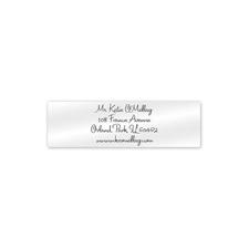 Shop Address Labels at Fine Stationery