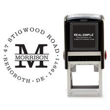 Shop Address Stamp at Fine Stationery