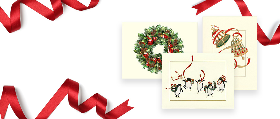 Shop Business Holiday Cards at Fine Stationery