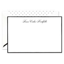 personalized note cards embossed note card fine stationery