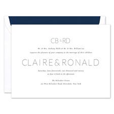 Shop Modern Wedding Invitations at Fine Stationery