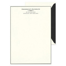 Shop Letterhead at Fine Stationery