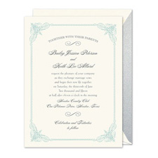 Shop Vintage Wedding Invitations at Fine Stationery