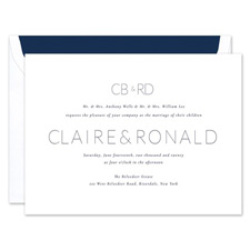 Shop Modern Wedding Invitations at Fine Stationery