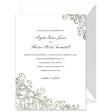 Shop Romantic Wedding Invitations at Fine Stationery