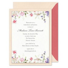 Shop Floral Wedding Invitations at Fine Stationery