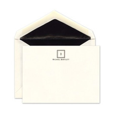 Shop Monogram Note Cards at Fine Stationery