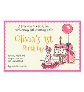 Shop Baby Party Invitations