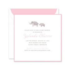 Shop Baby Shower Invitations at Fine Stationery