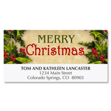 Shop Holiday Address Labels at Fine Stationery
